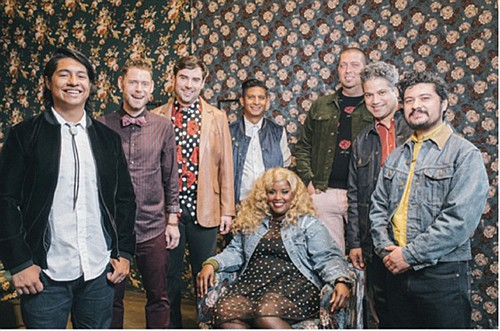 The Suffers, a Gulf Coast soul band from Houston that brings classic R&B and rock and roll to crowds that ...