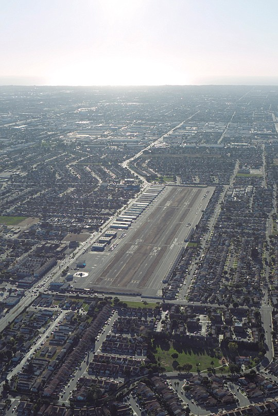 Compton Airport remained closed to the public today after...