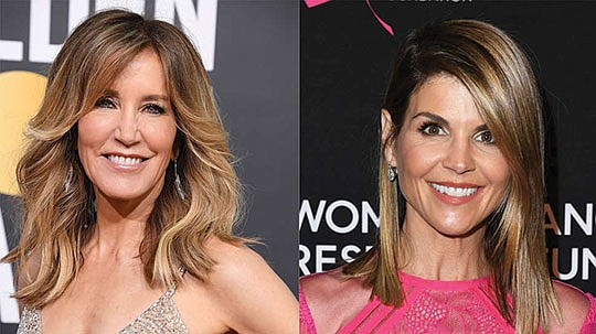 Hollywood actresses Lori Loughlin and Felicity Huffman are among at least 40 people..