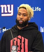 Odell Beckham Jr will now be known as an ex-New York Giant after the franchise traded him to the Cleveland Browns on Tuesday.