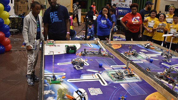 In a competitive, but friendly competition on Saturday, March 9, more than 250 fourth through eighth-graders from citywide Department of ...