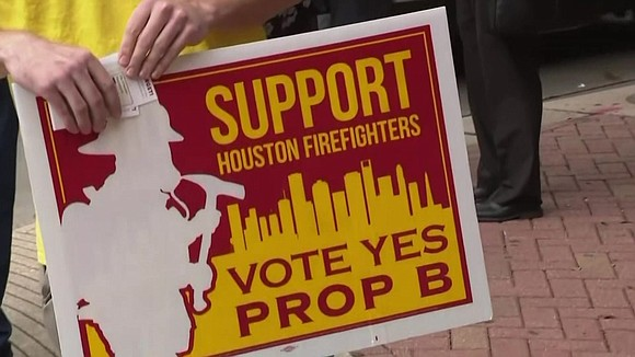 KPRC reports up to 400 Houston firefighters could be laid off in order to implement the pay raises for Proposition ...