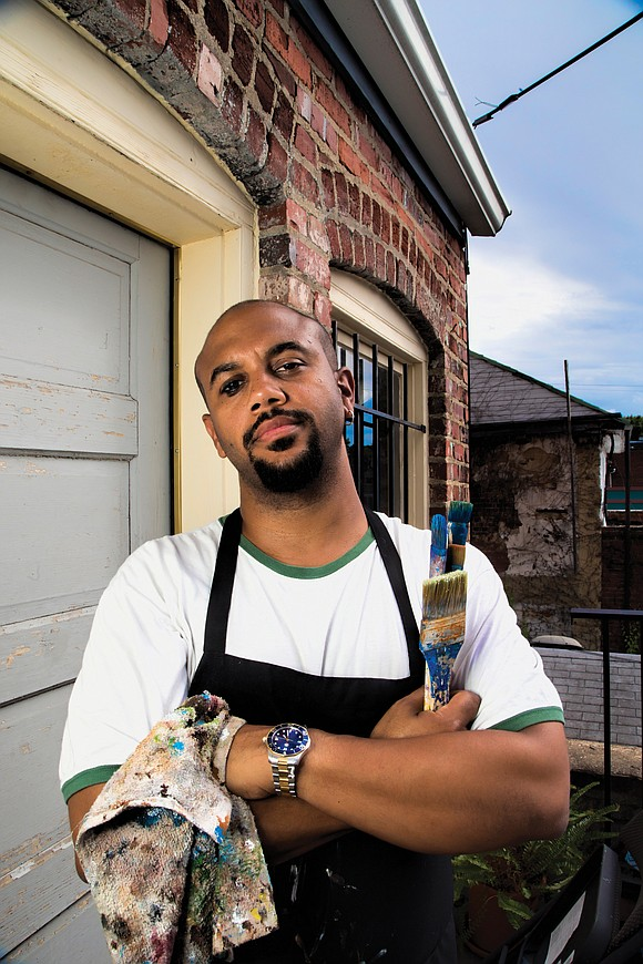 S. Ross Browne was painting in his South Side studio at 4 a.m. Nov. 1 when he heard an explosion ...