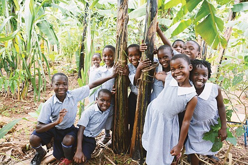 These talented Ugandan children delight audiences with traditional African songs and dances as part of a ministry to help children ...