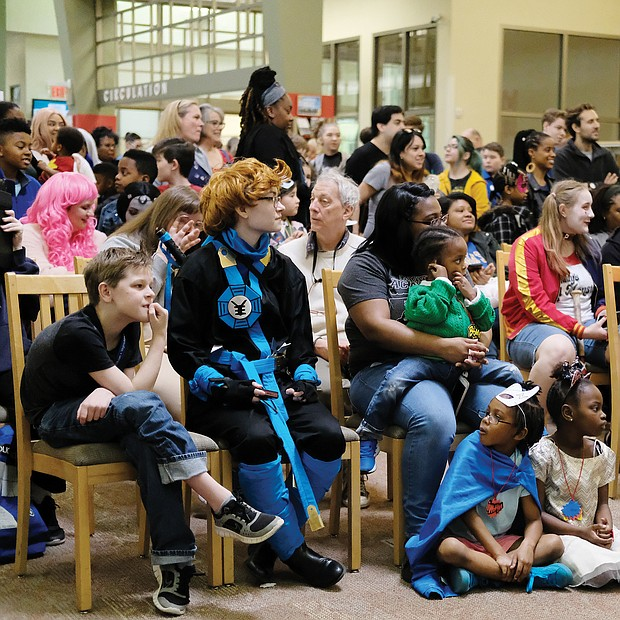 Characters abound: