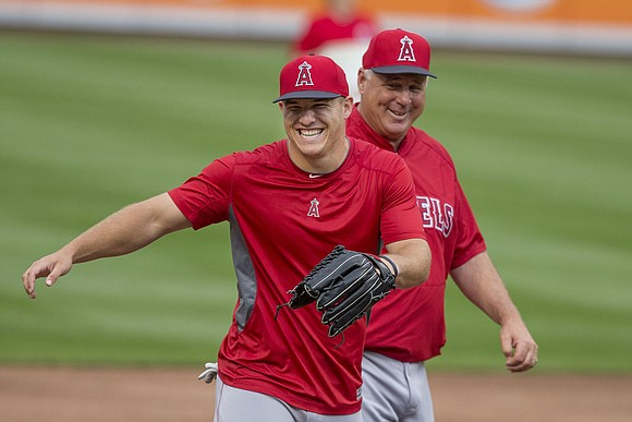 A few weeks after Bryce Harper signed a 13-year contract with the Philadelphia Phillies, Mike Trout has since raised the ...