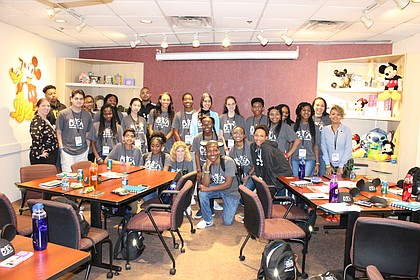 Students at the 2019 Disney Dreamers Academy