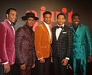 "The cast of ""Ain't Too Proud—The Life and Times of The Temptations"""