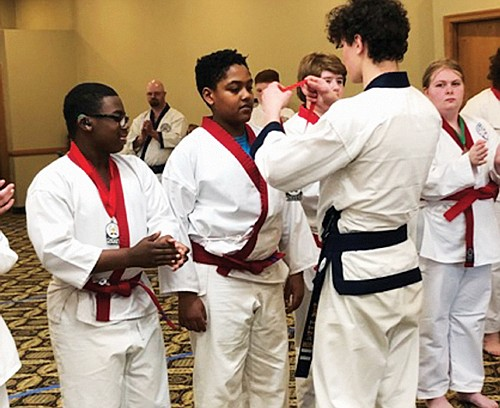 Congratulations to students from the Soo Bahk Do martial arts program in northeast Portland who took home trophies this month ...