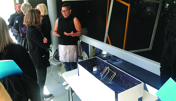 The Hyde Park Art Center, 5020 S. Cornell Ave., recently hosted an opening reception for the new Dark Matter: Celestial ...