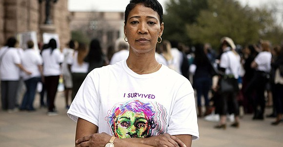 Evelyn Fulbright had a painful tumor on her uterus during the two years she spent in prison. It caused her ...