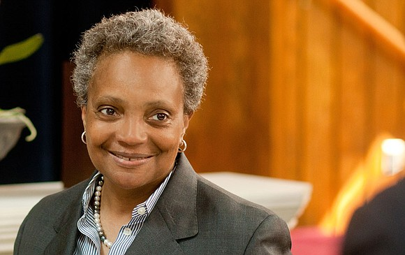 Lori Lightfoot won a resounding victor Tuesday night to...