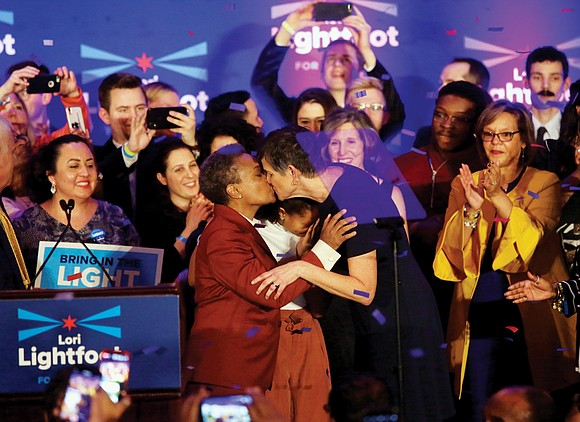 Lori Lightfoot's victory in the Chicago mayor's race signaled hope among voters that the nation's third-largest city may someday move ...