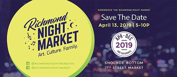 The Richmond Night Market, a new monthly gathering celebrating the city's food, art and culture, will be held 5 to ...