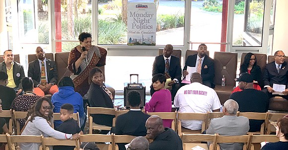 Monday Night Politics – Meet the Candidates, presented by The Dallas Examiner at the African American Museum on March 25, ...