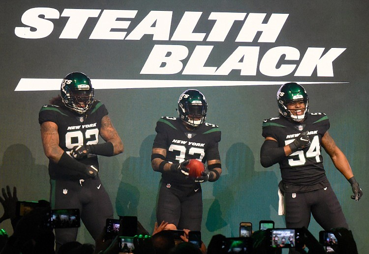 New York Jets 2020 Jets host a fabulous midtown affair introducing new uniforms to