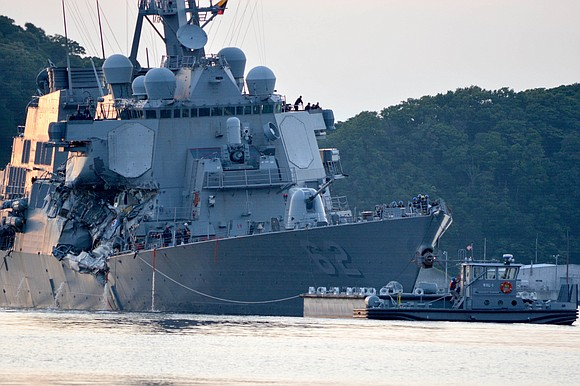 The US Navy is expected to drop criminal charges and instead issue censures in relation to the deadly 2017 collision ...