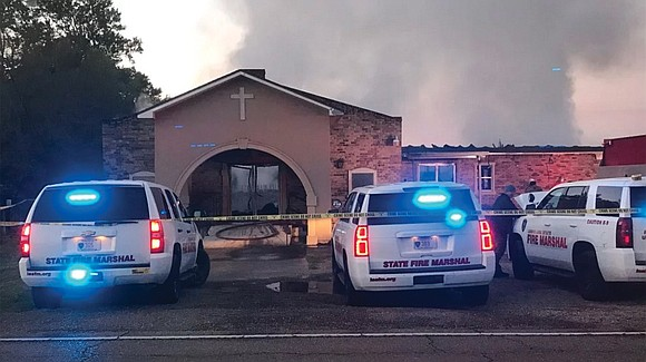 About 100 investigators are working to find out who is behind a series of church fires that have struck rural ...