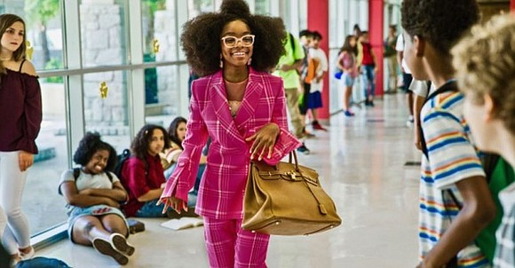 Little is a guilty pleasure. The guilt comes as you watch a 14-year-old actress (Marsai Martin, Black-ish) behaving like a ...