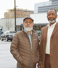 Civil rights organizers Hector Hinojosa (left) and Lynn Marzette are on a quest to improve police transparency and ensure unbiased law enforcement after an unusually high number of officer-involved shootings involving people of color in Vancouver and Clark County over the past few months.