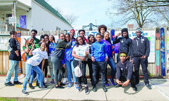 Students from Perspectives Charter School's Rodney D. Joslin Campus in South Loop recently traveled to the South Side of the ...