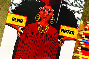 """Just in time for graduation, Latoya Nicole, bestselling author and owner of Entrepreneurs Color Too, is back with the release of her newest edition """"Alma Mater."""""""