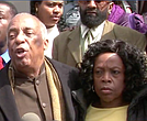Assemblyman Charles Barron and Veta Lewis, mother of Chanel Lewis