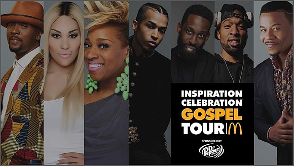 McDonald's announced the return of one of its staple events, the 13th annual Inspiration Celebration Gospel Tour. The longest-running, brand-owned ...