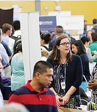 The Portland Community College Job Fair will once again bring a who's who of Portland-area employers to the Cascade Campus gym in north Portland. The annual event is slated for Tuesday, April 30.