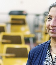 Portland Community College accounting instructor Usha Ramanujam applies life experience to support her students.