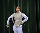 foil athlete Iman Blow has left an indelible mark on Columbia fencing.