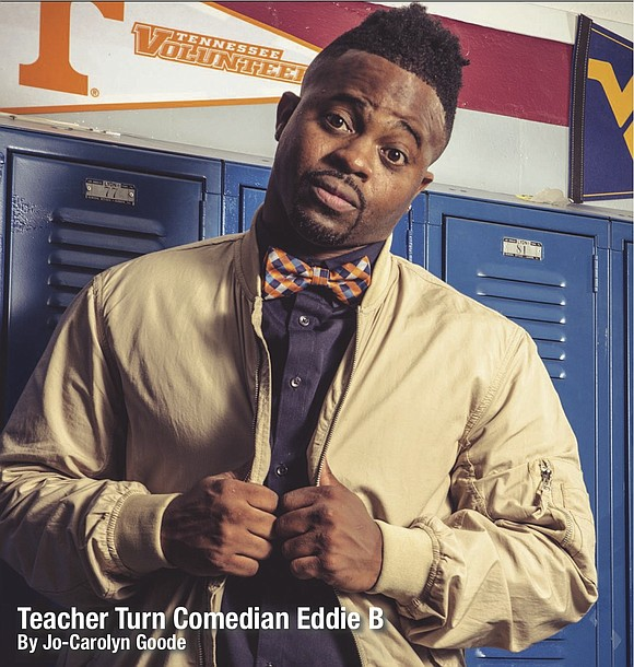 """I'm Already Professionally Developed: Straight From the Teacher's Desk,"" is a book about Eddie B's journey as a teacher on ..."