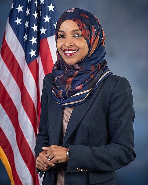Rep. Ilhan Omar is a Muslim, a woman, a refugee and an outspoken critic who speaks truth to power and ...