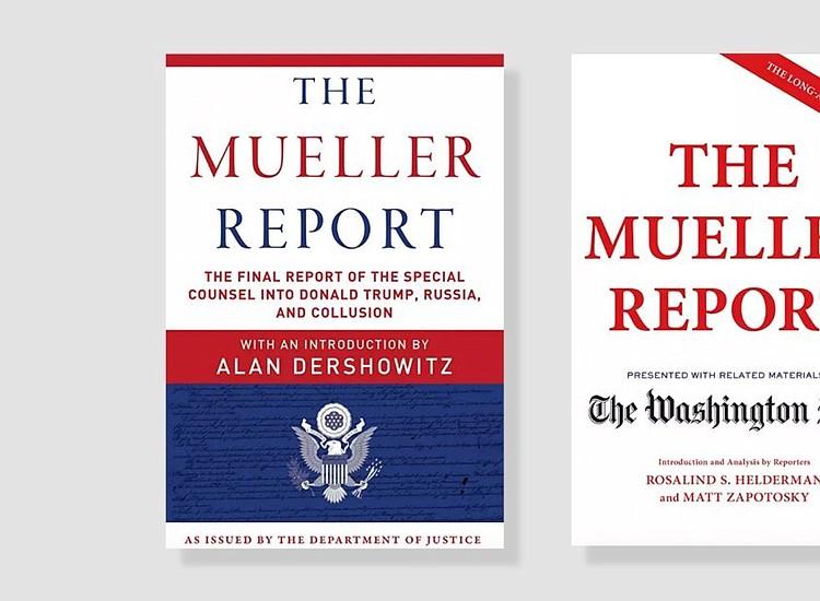 mueller report book best seller