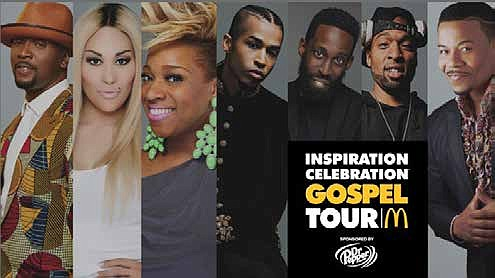 This week, the 13th Annual Inspiration Celebration Gospel Tour by McDonald's kicks off its national tour in Chicago and includes ...