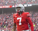 Giants general manager Dave Gettleman should select New Jersey native Dwayne Haskins with the No.6 pick in tonight's NFL draft.