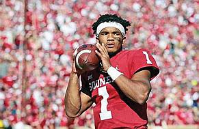 Kyler Murray was barely a blip on the draft radar starting the 2018 season. Now he's a favorite to be ...