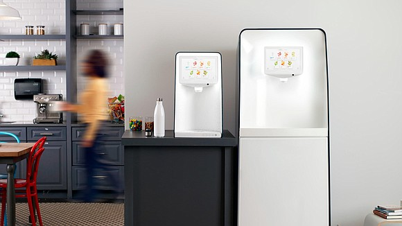 PepsiCo is launching a high-tech water cooler for customers who want healthier drinks that are also better for the environment.