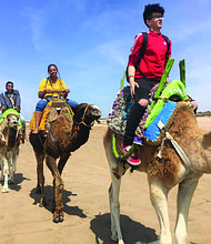 Nine Students from Lindblom Math and Science Academy recently returned from a spring break trip to Morocco. Photo Credit: Chicago Public Schools