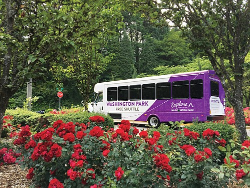 Free shuttle service to explore Washington Park, with stops to all major attractions, including the Oregon Zoo, Hoyt Arboretum and ...