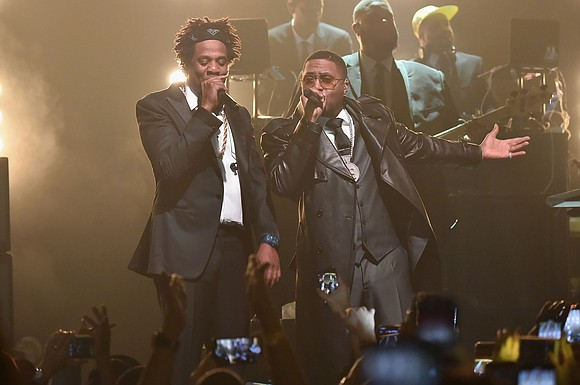 There was no politicking from the sidelines at Jay-Z's historic opening show at Webster Hall on Friday, April 26, following ...