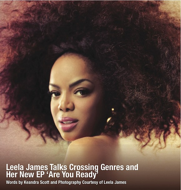 Soul singer Leela James brought her Cali-rooted charm in the form of great weather to Houston in an exclusive in-person ...