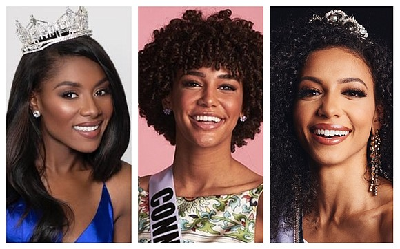 For the first time, America's top beauty pageants — Miss USA, Miss Teen USA and Miss America — have crowned ...