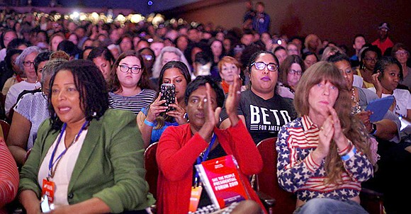 Texas' biggest city was at the center of the 2020 presidential race April 21 as a group of Democratic candidates ...