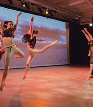 The visual stunning Rip/Tide by the founders of BodyVox will be part of a mixed-repertorie of contemporary and classic pieces to showcase advance dancers from the Portland Ballet coming Friday and Saturday, May 10-11 to the Lincoln Performance Hall at Portland State University.