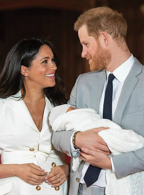 And his name is Archie Harrison Mountbatten-Windsor. Prince Harry and Meghan Markle, the Duke and Duchess of Sussex whose fairytale ...
