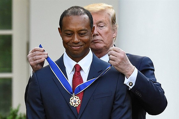 Without predicting the future, there's no way of determining whether golf great Tiger Woods will ever win another major.
