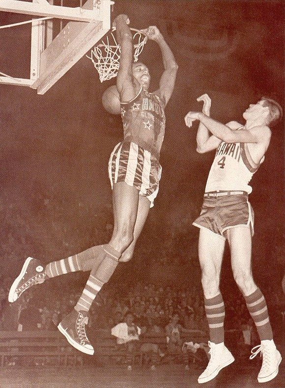 Jackie Jackson of the Harlem Globetrotters was a legendary fan favorite. It didn't matter whether the basketball game was inside ...