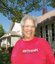 Trudy Pollard, 71, a lifelong resident of the Woodlawn Neighborhood, is part of a group of community advocates trying to keep the former Woodlawn United Methodist Church property at Northeast 15th and Dekum in public service use.  A home to Albina Head Start for generations and another non-profit, residents of the inner city neighborhood fear the site will be sold away and lost to gentrification.