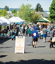 Neighborhood farmers markets are starting to open for the season, including the King Farmers Market each Sunday from 10 a.m. to 2 p.m. at King School Park in northeast Portland.  As in past seasons, shoppers eligible for SNAP benefits will be able to get dollar-for-dollar matches at the King Market and at the Kenton and Lents Famers Market when they open in June.